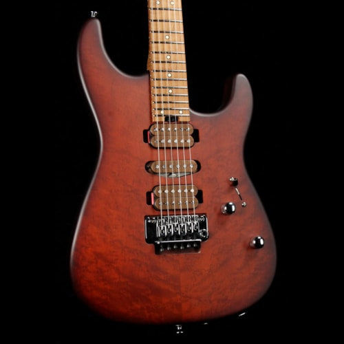 Charvel Guthrie Govan Signature Caramelized Ash HSH Limited Edition Britannica Red