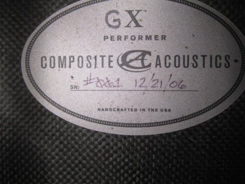 Composite Acoustics GX Performer