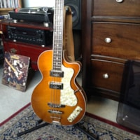 2014 HOFNER H500/2 Club Bass