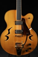 Custom Built Jazz Archtop - Natural