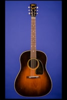1944 Gibson J-45 with 1946 Gibson BR-6 Amplifier (Vertical Cab