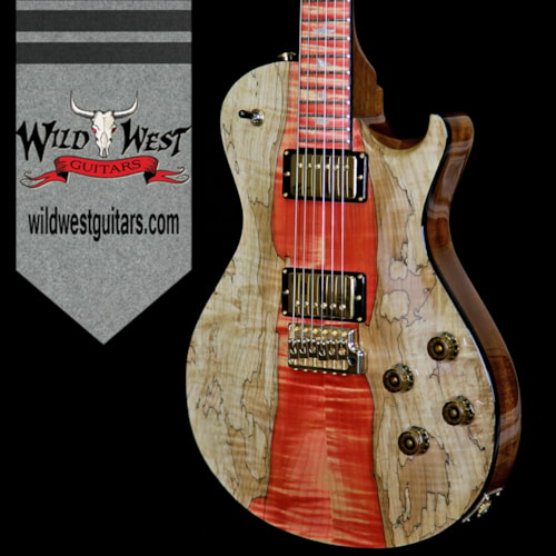 2018 paul reed smith prs prs private stock 8058 mccarty singlecut 594 tremolo flame spalted. Black Bedroom Furniture Sets. Home Design Ideas