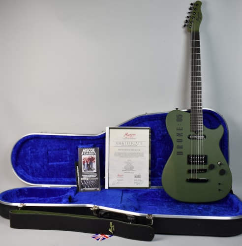 Manson MB DR-1 Matthew Bellamy Drone Guitar Final Numbers Edition #