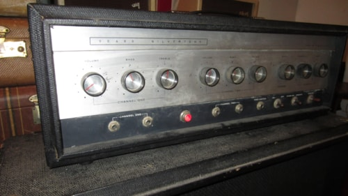 ~1964 Silvertone Model 1484 Twin Twelve Amplifier