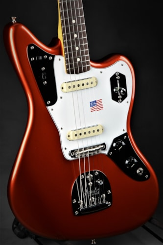 Fender Johnny Marr Jaguar - Metallic Kandy Orange