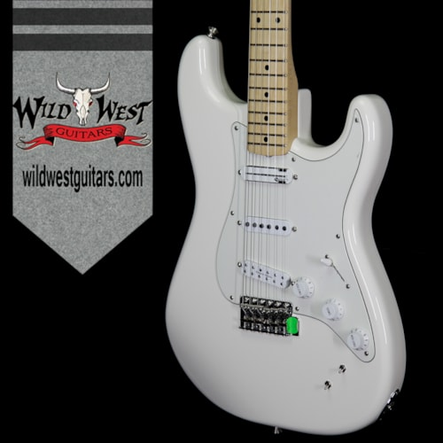 2018 Fender 2018 NEW Fender Ed O'Brien Signature EOB Sustainer Stratocaster Olympic White