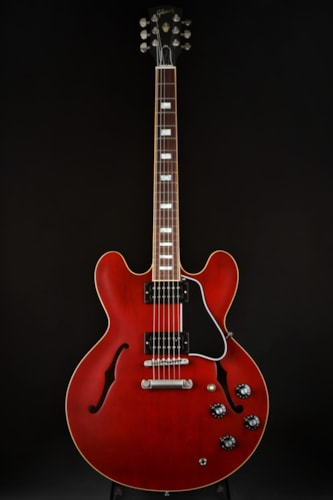 Gibson Memphis ES-335 Satin 2018 Wine Red