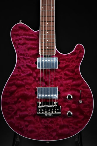 ERNIE BALL MUSIC MAN BFR Axis Super Sport - Trans Light Purple #19 of 27