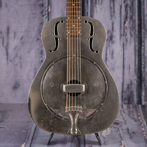 2001 Regal RC-2 Duolian Resonator Guitar, Nickel Plated
