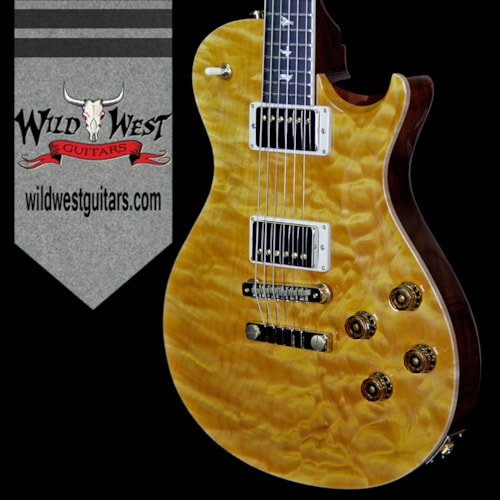 2018 PRS - Paul Reed Smith PRS Wood Library Artist Package McCarty Singlecut SC594 1 Piece Quilt Top Ebnoy Board Honey