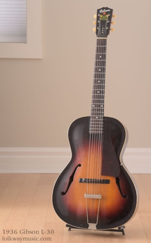 1936 Gibson L-30