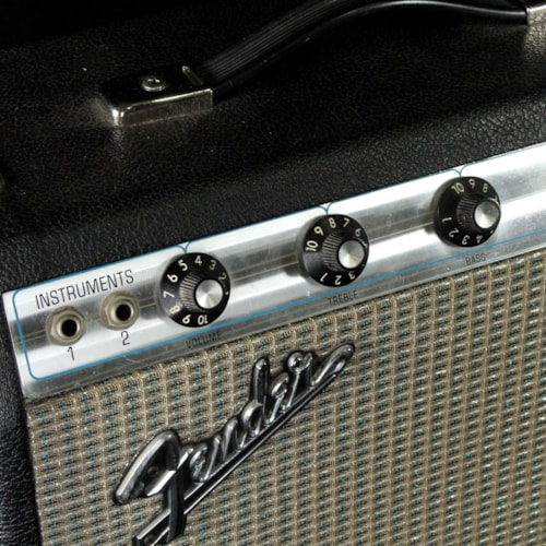 1972 Fender Champ Silverface 1972