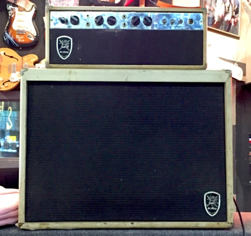 ~1962 St George by Massey Fender Tremoluxish Head and Cabinet