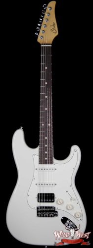 2017 Suhr Classic Pro HSS Rosewood Fingerboard Quartersawn Maple Neck Olympic White
