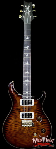 2018 PRS - Paul Reed Smith PRS Wood Library Artist Package Custom 24 Fatback Flame Neck Brazilian Rosewood Board Black Gold Burst