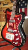1964 Silvertone Model 1443 Hornet Bass Double Pickup