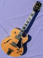 1988 Gibson L-4CESN: Solid Carved Top, Rare Blonde Finish