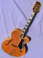 1951 Epiphone Deluxe Regent: Extremely Rare Super Jumbo Cutaway