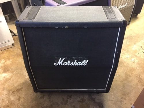 1980 Marshall Model #1982 4x12 Speaker Cabinet