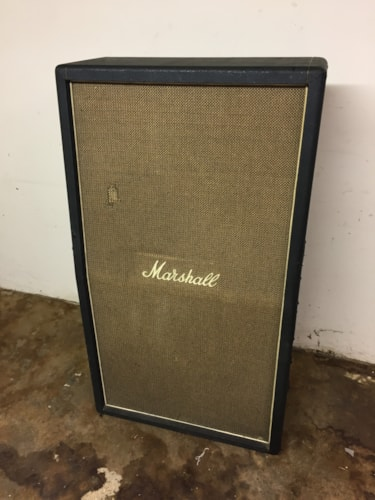 1970 Marshall Basket Weave Tall 4x12 100w Model #2032