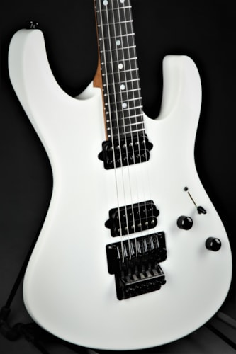 Suhr Modern - White/5A Roasted Birsdeye Maple Neck