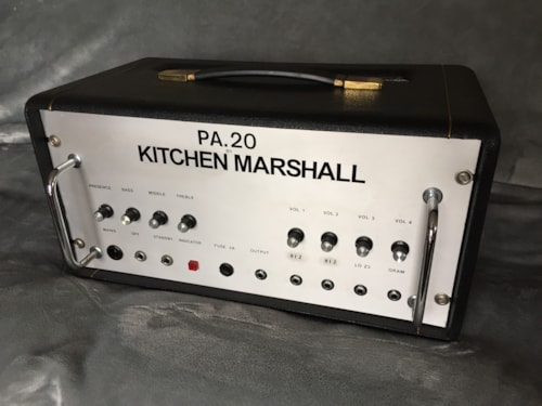 1974 Marshall Kitchen Marshall 20w PA Head