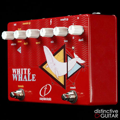 Crazy Tube Circuits White Whale Spring Reverb / Trem