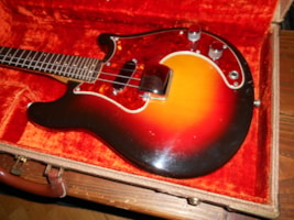 1962 Fender Mandocaster Electric Mandolin