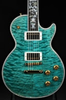 "Gibson Custom Shop Les Paul Ultima ""Tree of Life"" - Aqua"