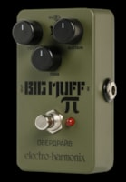 2018 Electro-Harmonix Green Russian Big Muff Distortion Overdrive Fuzz P