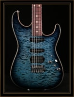 Tom Anderson Drop Top with Quilt Maple Top
