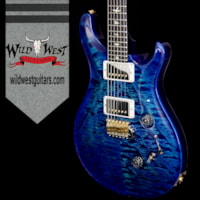 2018 PRS - Paul Reed Smith PRS Wood Library 10 Top Custom 24/08 Quilt Top Fla
