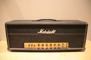 1974 Marshall JMP Super Bass 100w Head Model #1992