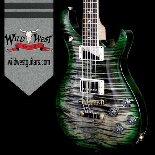 2018 PRS - Paul Reed Smith PRS 2018 Experience 10 Top McCarty 594 Flame Top Rosewood Board Charcoal Green Burst