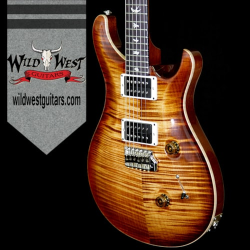 2018 PRS - Paul Reed Smith PRS 2018 Experience 10 Top Custom 24 Flame Top East Indian Rosewood Board Copperhead Burst