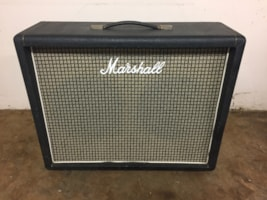 1973 Marshall Model #2045 2x12 Speaker Cab w/ Celestion Rola Greenbacks