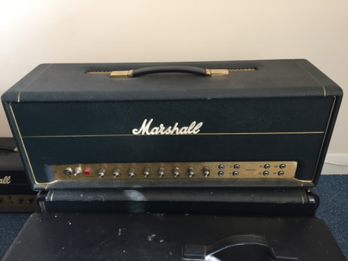 1970 Marshall Super PA 100w Head Model #1968
