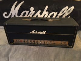 1970 Marshall JMP Super PA 100w Head Model #1968 w/ modern cover