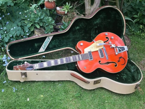 1955 Gretsch 6120 Chet Atkins with Fixed Arm Bigsby