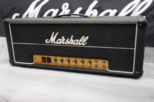 1976 Marshall JMP Super Bass 100w Head Model #1992