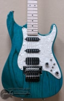 Tom Anderson Classic in Bora Bora Blue with Schaller Floyd