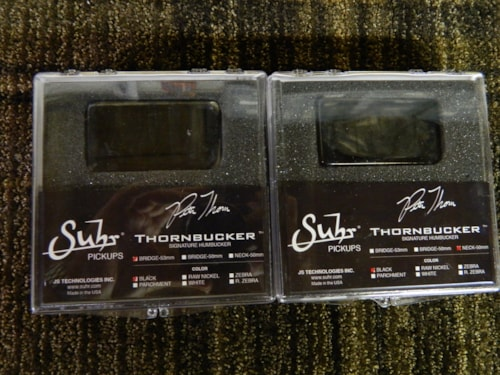Suhr Thornbucker Signature Set