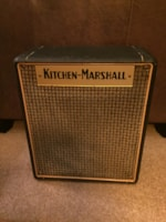 1970 Marshall Kitchen Marshall 1x10 Speaker Cab