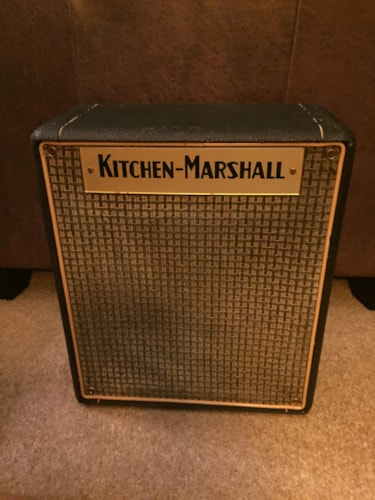 ~1970 Marshall Kitchen Marshall 1x10 Speaker Cab