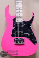 Ibanez GRGM21 Mikro Short Scale Electric Gutiar in Pink