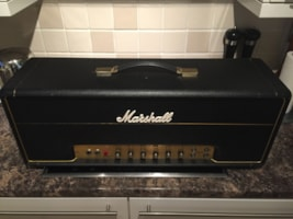 1974 Marshall JMP Lead 50w Head Model #1987