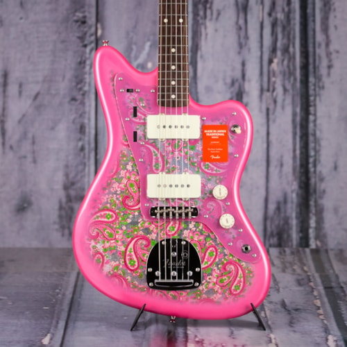 Fender Made In Japan Traditional 60s Jazzmaster, Pink Paisley
