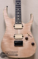 Ibanez RG Exotic Wood 521 Electric Guitar with Flame Maple Top in Natural Flat