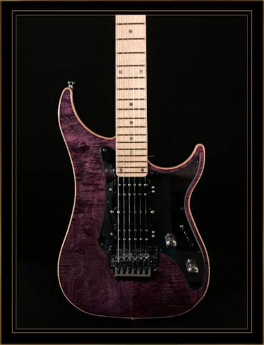 Vigier Excalibur Custom HSH with Floyd Rose and Maple Fretboard