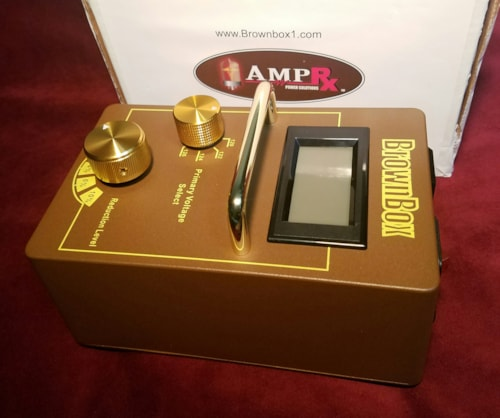 2018 AmpRX BrownBox Tube Amplifier Input Voltage Attenuator